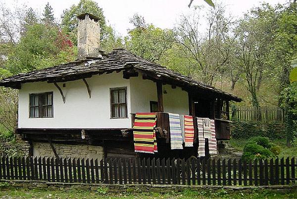 Arhitektura seoske kuće u Bugarskoj