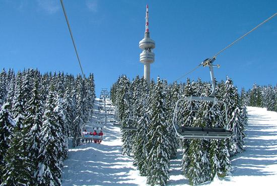 Snežanka, ski staza sa četvorosedom