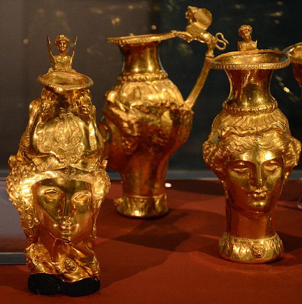 Detalji trakijskog zlata