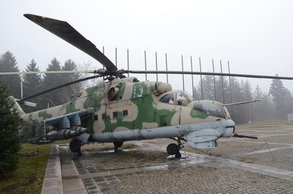 Ruski ratni helikopter